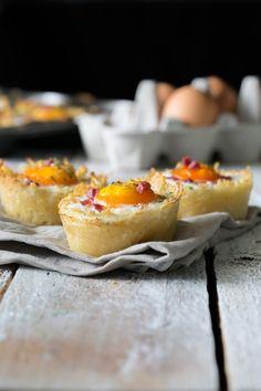 Ei im Kartoffel-Parmesan-Nest | Ich machs mir ... einfach | Bloglovin'