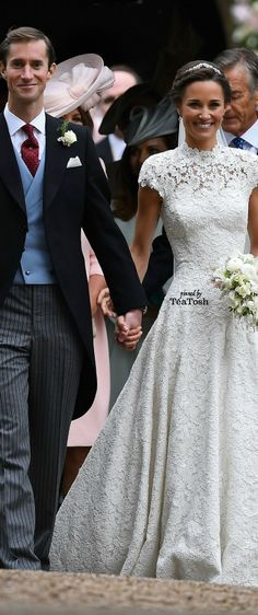 ❇Téa Tosh❇ Pippa Middleton and James Matthews Are Married! May 20, 2017