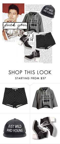 """""""Mommae By. Jay Park"""" by josi-heart ❤ liked on Polyvore featuring 5 Preview, Keds, BRONTE and vintage"""