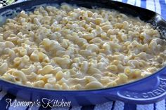 Skillet Southern Mac and Cheese   FaveSouthernRecipes.com