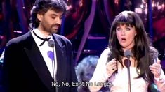 Sarah Brightman & Andrea Bocelli - Time to Say Goodbye 1997 Video ster. Sarah Brightman, Music Film, Film Movie, Art Music, Our Father Lyrics, Tabernacle Choir, Members Of One Direction, Saying Goodbye, Songs To Sing