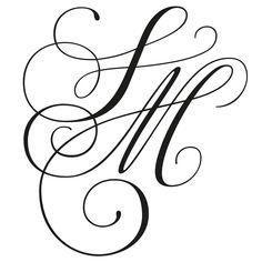 Wedding Invitation Inspiration, Wedding Invitations, Indigo, Fonts, Arabic Calligraphy, Monogram, Wallpaper, 3, Handmade
