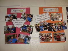Science Notebooking, Teaching, and Technology: Hallway Display Idea Hallway Displays, Library Displays, Classroom Displays, Classroom Ideas, Classroom Timeline, Classroom Organisation, Classroom Management, School Organization, Behavior Management