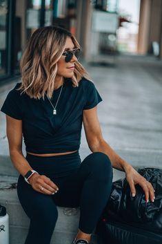 Sportswear for women and active clothing Athleisure Outfits Active clothing Sportswear women Brown Blonde Hair, Brunette Hair, Brunette Color, Estilo Fitness, Workout Attire, Workout Pants, Summer Workout Outfits, Workout Wear, Summer Outfit