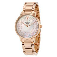 kate spade new york アナログ腕時計 税関込! kate spade Gramercy ローズゴールド 腕時計