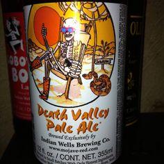 Death Valley Pale Ale.