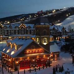 Image detail for -. Resort - Village Suites - Hotels In Collingwood Ontario Canada Dream Vacations, Vacation Spots, Family Vacations, Ontario, Places To Travel, Places To See, Canada Christmas, Toronto, Mountain Village