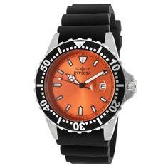 Invicta Men's 10916 Pro Diver Orange Dial Watch Invicta http://www.amazon.com/dp/B007HNBW6Y/ref=cm_sw_r_pi_dp_9fQqxb1J48BPY