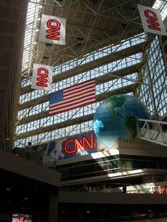 CNN (Cable News Network) in Atlanta