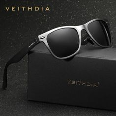 Retro Aviation Aluminum Magnesium Bright Reflective Polarized Sunglasses #ebay #Fashion