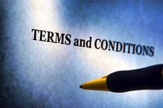 Terms and Conditions Legal Notice