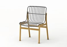 查看此 @Behance 项目: \u201cwirewood chair\u201d https://www.behance.net/gallery/52507021/wirewood-chair
