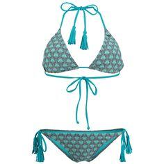 Malediven blauer Bikini von O'Neil @ABOUT YOU http://dein.aboutyou.de/p/oneill/bikini-paisley-triangle-2218875