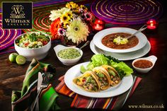 СULINARY TRAVELS WITH WILMAX. MEXICO. Mexican cuisine is all about fresh vegetables, variety of spices and hot sauces.   When serving delicious tacos, use unique WILMAX bowls that come in different sizes for traditional Mexican salsa and guacamole sauces.