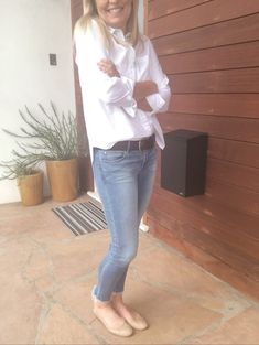 da29f8889f1b5 Shop the Look from marciadeangelis on ShopStyle  Classic look! 😀. White  Button Down ...