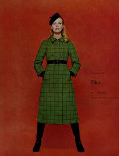 1966 Christian Dior .coat 'xaven'