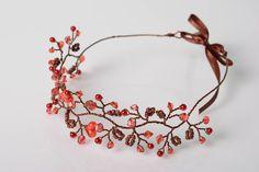 Beautiful handmade designer beaded copper by ModelingHairstyles