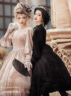 Lost Angel -Bolangte- Vintage Classic Lolita OP Dress Lolita Dress, Angel, Poses, Classic, Shopping, Vintage, Dresses, Link, Twitter