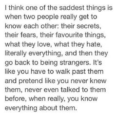 One of the saddest things..