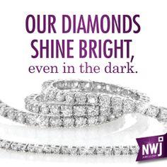 NWJ diamonds #love  #diamonds