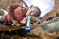 LifeStraw vandrenser - personligt transportabelt renseanlæg!