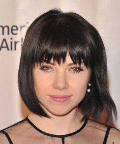 15 Popular Brunette Bob Hairstyles | http://www.short-haircut.com/15-popular-brunette-bob-hairstyles.html