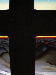 Georgia O'Keeffe - Black Cross, New Mexico, 1929
