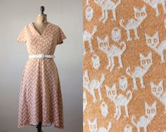 oh my, how i love this 1960's cat print dress from thrush! if only it wasn't an xs-small :(