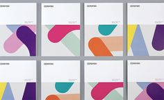 """Cerovski is a young Croatian print production studio that revels in the challenge of """"nebulous finishing, microscopic editions, absurd materials and crazy deadlines"""".Design agency Bunch recently developed a new brand identity for the studio—which includ… Identity Design, Visual Identity, Logo Design, Brand Identity, Design Agency, Design Art, Corporate Design, Corporate Identity, Buch Design"""