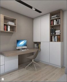 beautiful ideas for home office design that you enjoy working with . - beautiful ideas for home office design that you enjoy working with … – furnishing idea - Mesa Home Office, Cozy Home Office, Home Office Desks, Basement Office, Small Home Offices, Office Lounge, Office Seating, Basement Ideas, Small Office Furniture