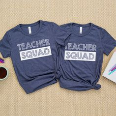 These Funny Teacher Shirts Are - Funny Team Shirts - Ideas of Funny Team Shirts - Teacher Shirts From WeAreTeachers Shop Funny Teacher Shirts Preschool Shirts, Teaching Shirts, T Shirts For Teachers, Teacher T Shirts, Teacher Gifts, Teacher Clothes, Teaching Outfits, Teaching Kids, Team Shirts