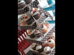 Expositor de Cupcakes - 3 Projetos