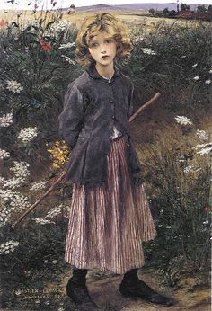 Jules Bastien-Lepage - Young Girl (1881)