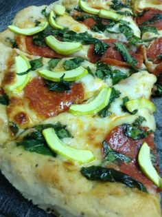 Absolutely Amazing gluten free pizza crust recipe. Tastes just like a pizzeria style pizza!  FromThere IS Life After Wheat