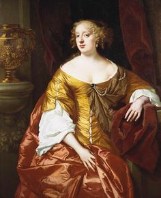 Anne Digby, Countess of Sunderland. One of the eleven Windsor Beauties, celebrated women at the Restoration Court. before 1666.