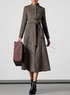 Coats For Women - Shop Designer Womens Winter Coats Online Maxi Coat, Belted Coat, Coat Dress, Look Fashion, Winter Fashion, Fashion Outfits, Womens Fashion, Trendy Fashion, Winter Coats Women
