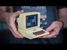 Building a Working Miniature Apple II Replica!: Tested Building a Working Miniature Apple II Replica! http://www.tested.com Mon, 06/12/2017…