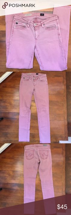 582f7b7a0387a AG The Stevie Ankle Jeans EUC No signs of wear great pair of jeans. Dark · Lilac  ColorAdriano ...