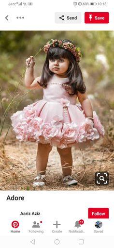 Girls Dresses, Flower Girl Dresses, Wedding Dresses, Children, Baby, How To Wear, Fashion, Dresses Of Girls, Bride Dresses