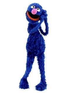 grover-favorite seseme st character. i think i misspelled seseme, don't look right. lol
