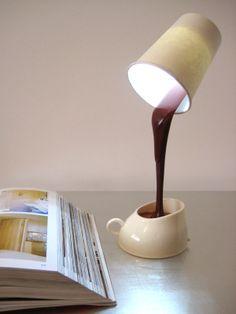 Lámpara café • Coffee lamp :-)