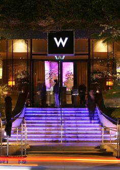 W Los Angeles, love these hotels with all there: what, whatever, why, who, we, where, etc.~ just fun!