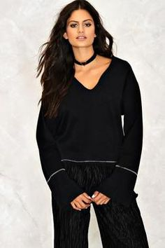 Nasty Gal Louise Plunging Top Found on my new favorite app Dote Shopping #DoteApp #Shopping