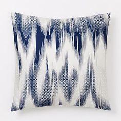 Organic Fading Ikat Tile Duvet Cover + Shams #westelm