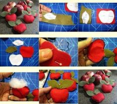DIY Felt Apple Decor DIY Projects