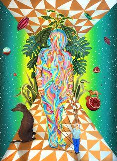 Vibrant Murals & Illustrations Exploring Unseen Realities – Fubiz Media