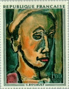 "Rouault (1871-1958) ""Hollow Dream"""