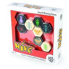 HIVE, bogaras stratégiai társasjáték 8 éves kortól - Gen 42 Board Games, Cube, Toys, Activity Toys, Tabletop Games, Clearance Toys, Gaming, Games, Toy