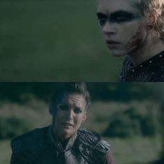 Astrid begging Lagertha to kill her