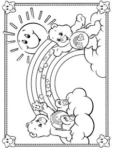 Here are the Amazing Care Bear Coloring Sheets Colouring Pages. This post about Amazing Care Bear Coloring Sheets Colouring Pages was posted . Spring Coloring Pages, Bear Coloring Pages, Coloring Pages For Girls, Disney Coloring Pages, Coloring For Kids, Printable Coloring Pages, Free Coloring, Coloring Sheets, Coloring Books
